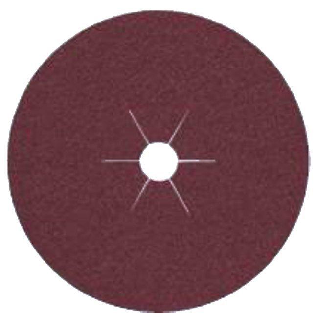 "Klingspor 66358 5""x7/8"" CS561 24G Abrasive Fibre Discs - 25 pack"