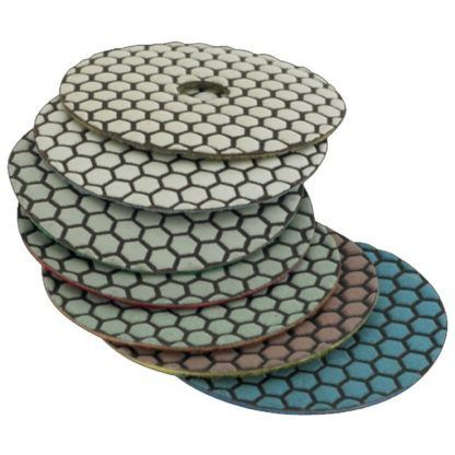 Lackmond Professional Series Dry Polishing Pads