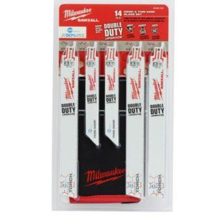 Milwaukee 49-22-1131 14-Piece Metal Cutting Sawzall Blade Set