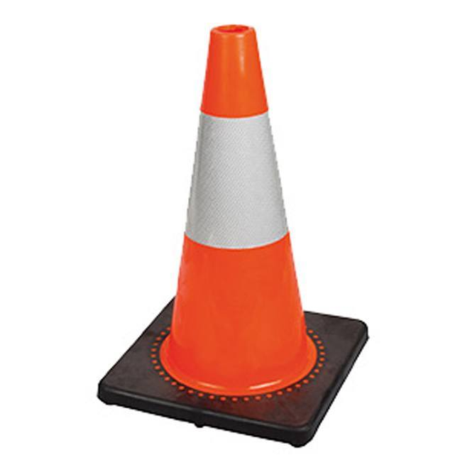 Pioneer 181 V6200350 18 Quot Premium Pvc Safety Cone With Hi