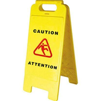 Pioneer 302 Bilingual Janitorial Floor Sign