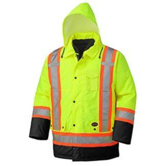 Pioneer 5021BB Hi-Viz 100% Waterproof 6-in-1 Parka