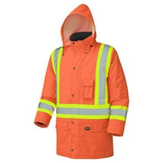 Pioneer 5030 Hi-Viz Winter Insulated Parka