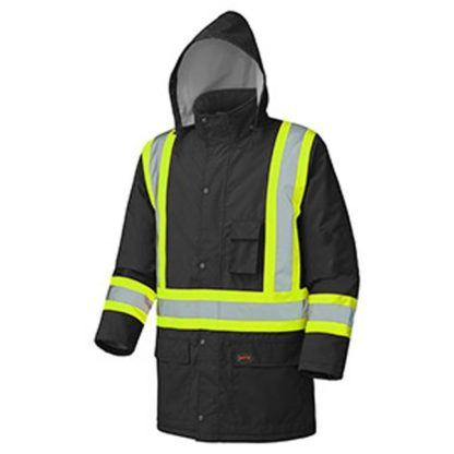 Pioneer 5031BK Hi-Viz Winter Insulated Parka