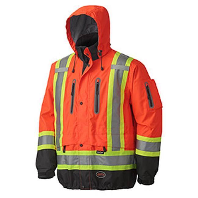 Pioneer 5200 Hi-Viz Waterproof Breathable Premium Jacket
