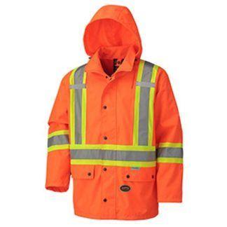 Pioneer 5575A Hi-Viz 100% Waterproof Jacket