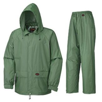 Pioneer 583 Polyester PVC Rain Suit