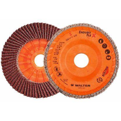 "Walter 06B456 4-1/2"" 60G Enduro-Flex Flap Disc"