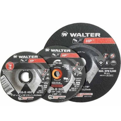 "Walter 08B500 5"" HP Grinding Wheel"