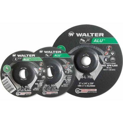 "Walter 08L452 4-1/2"" Aluminum Grinding Wheel"
