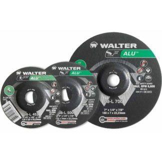 "Walter 08L700 7"" Aluminum Grinding Wheel"
