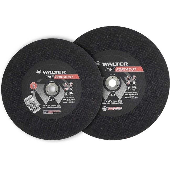"Walter 11A121 12"" Portacut High Speed Cutting Wheel"