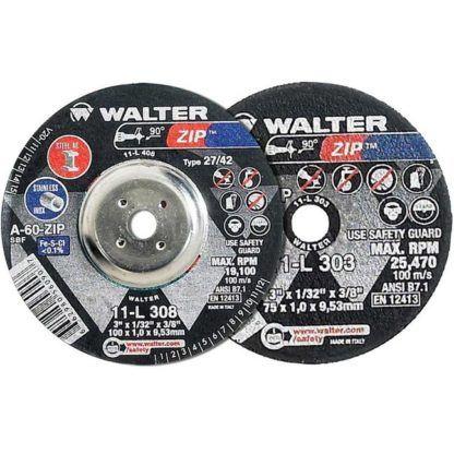 """Walter 11L313 3"""" Zip Die Grinder Cutting & Grinding Wheel"""
