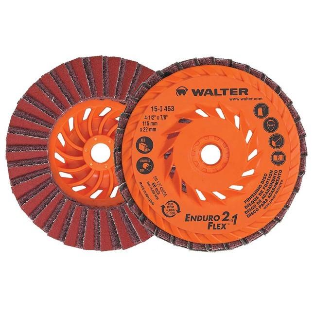 "Walter 15I503 5"" Enduro-Flex 2-in-1 Surface Finishing Disc"