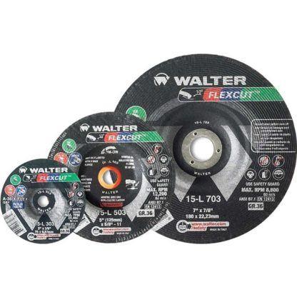 "Walter 15L702 7"" 24G Flexcut Grinding Disc"