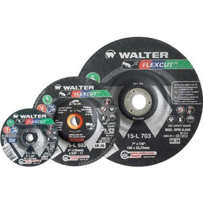 "Walter 15L703 7"" 36G Flexcut Grinding Disc"