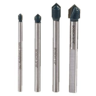 Bosch GT2000 4-Piece Glass & Tile Bit Set