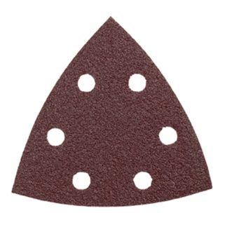 Bosch SDTR180 180 Grit Abrasive Triangles for Wood - 5pk