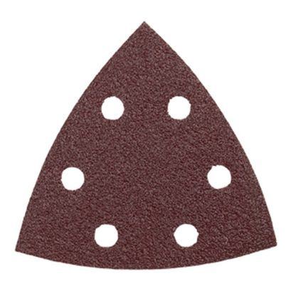 Bosch SDTR182 180 Grit Abrasive Triangles for Wood - 25pk