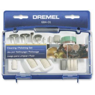 Dremel 684-01 20 Piece Cleaning & Polishing Accessory Set