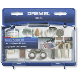 Dremel 687-01 General Purpose Accessory Set
