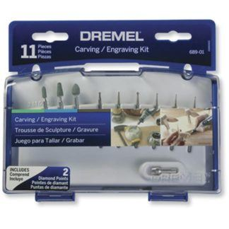 Dremel 689-01 Carving & Engraving Mini Accessory Kit