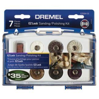 Dremel EZ684-01 EZ Lock Sanding & Polishing Kit