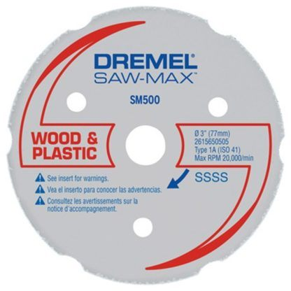 Dremel SM500 Wood & Plastic Carbide Wheel