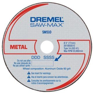 "Dremel SM510 3"" Metal Cut-Off Wheel"