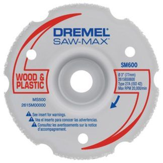 "Dremel SM600 3"" Wood & Plastic Flush Cut Wheel"