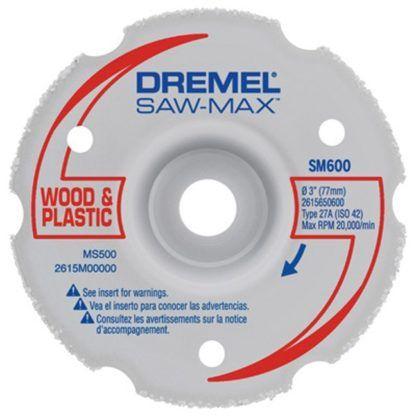 "Dremel SM600 3"" Wood & Plastic Flush Cut Wheel"