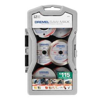Dremel SM710 12 Piece Saw-Max Blade Set