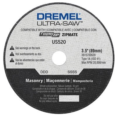 Dremel US520-01 Masonry Cutting Wheel