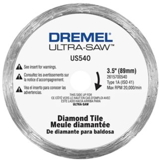 Dremel US540-01 Diamond Tile Cutting Wheel