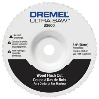 Dremel US600-01 Wood Flush Cut Wheel