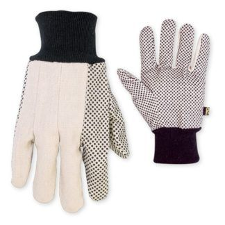 Kuny's 2006 Cotton Canvas Gloves with Gripper Dots