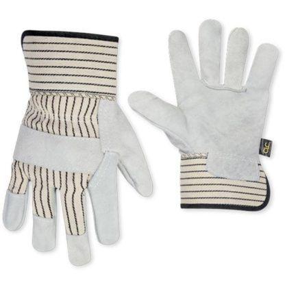 Kuny's 2040 Split Cowhide Safety Cuff Work Gloves