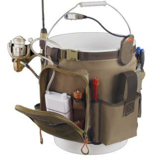 Kuny's WL3506 Tackle Tek Rigger Lighted Bucket Organizer
