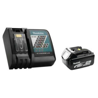 Makita Y-00309 18V 5.0Ah Battery & Rapid Charger Kit