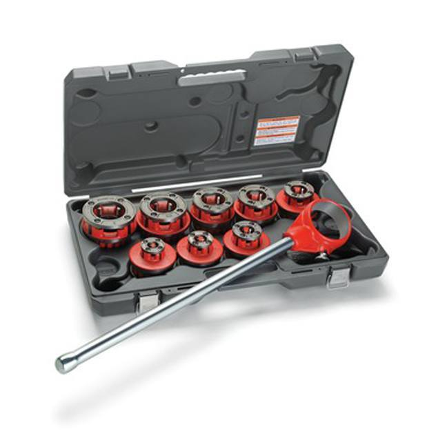 Ridgid 36505 Exposed Ratchet Threader Set