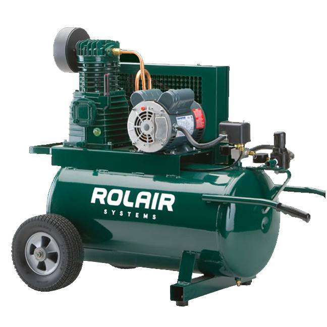 Rolair 5520k17 1 5hp Wheeled Electric Compressor Bc
