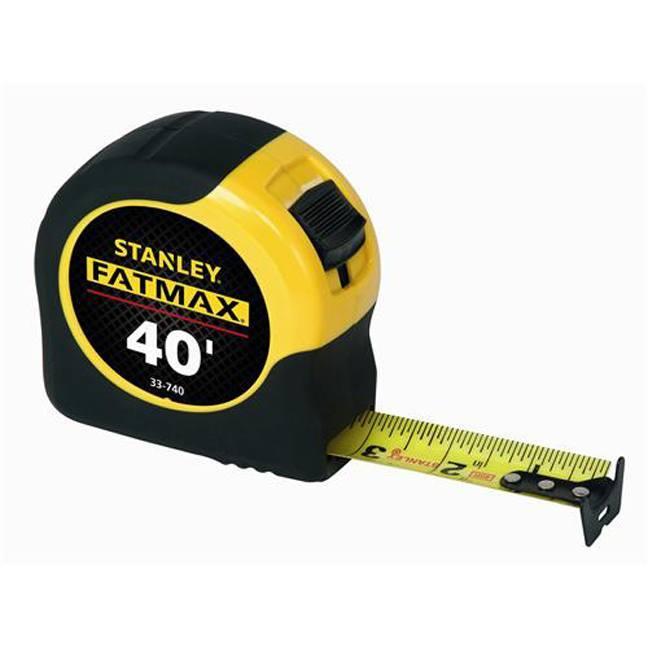 "Stanley 33-740 40'x1-1/4"" FatMax Tape Measure"