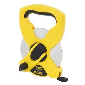 "Stanley 34-790 100'x1/2"" Fiberglass Long Tape Measure"