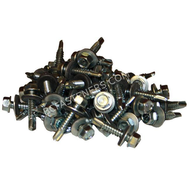Hex Washer Head Tek Screw with Bonded Washer