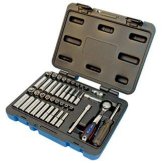 "Jet 600125 42 PC 1/4"" DR SAE Metric Socket Wrench Set"