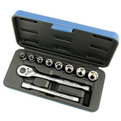 "Jet 600223 11 PC 3/8"" DR SAE Socket Wrench Set - 6 Point"