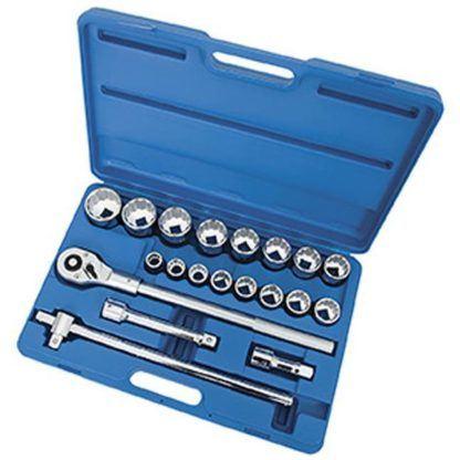 "Jet 600406 21 PC 3/4"" DR SAE Socket Wrench Set - 12 Point"