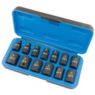 "Jet 610217 14 PC 3/8"" DR Metric Impact Socket Set - 6 Point"