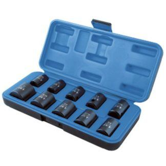 "Jet 610302 10 PC 1/2"" DR SAE Impact Socket Set - 6 Point"