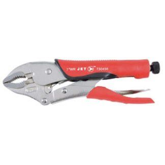 """Jet 730456 7"""" Curved Jaw Locking Pliers with Cutter"""